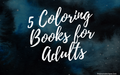5 Coloring Books for Adults