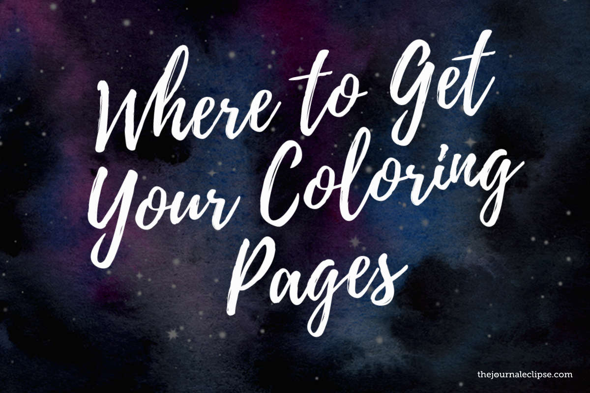 Where to get your coloring pages